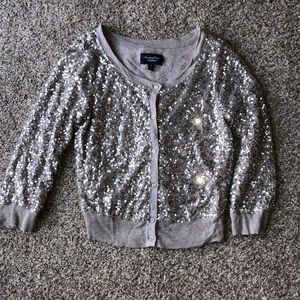 American Eagle Outfitters Sequin Cardigan